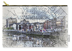 River Liffey Dublin Carry-all Pouch
