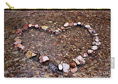 River Of Love Carry-all Pouch by Natalie Ortiz