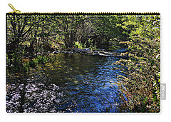 River Of Peace Carry-all Pouch by Glenn McCarthy