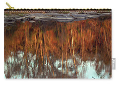 River Reflection Carry-all Pouch by Skip Willits