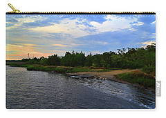 River Road Park At Dusk Carry-all Pouch