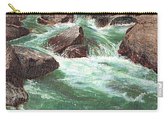 River Rocks Carry-all Pouch