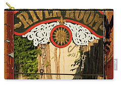 River Room Georgetown South Carolina Carry-all Pouch by Bob Pardue