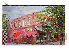 River Street Tavern-ellijay, Ga - Cheers Carry-all Pouch by Jan Dappen