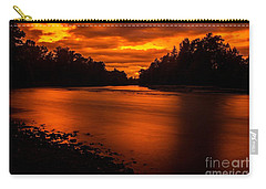 River Sunset 2 Carry-all Pouch