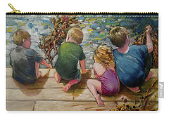 River Tenders Carry-all Pouch by Mary Hubley