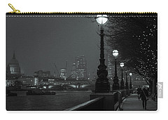 River Thames Embankment, London 2 Carry-all Pouch