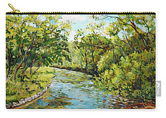 River Through The Forest Carry-all Pouch