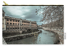 River Tiber Carry-all Pouch by Sergey Simanovsky