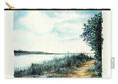 River Walk Carry-all Pouch by Heidi Kriel