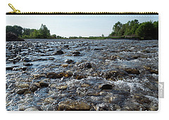 River Walk Carry-all Pouch by Helga Novelli