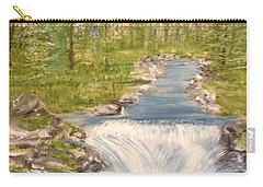 River With Falls Carry-all Pouch