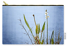 Carry-all Pouch featuring the photograph Riverbank Beauty by Carolyn Marshall