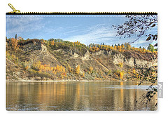Riverbank In Autumn Carry-all Pouch