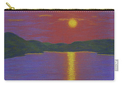 Riverboat Sunset Carry-all Pouch