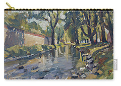 Riverjeker In The Maastricht City Park Carry-all Pouch