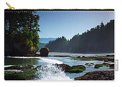 Rivers And Lakes Around Olympic National Park America Carry-all Pouch