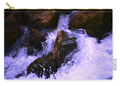 River's Dream Carry-all Pouch by Nature Macabre Photography