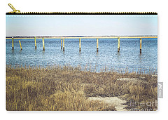 Carry-all Pouch featuring the photograph River's Edge by Colleen Kammerer