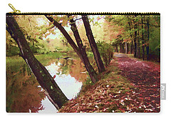 Riverside Carry-all Pouch by Betsy Zimmerli