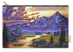 Riverside Cabin Carry-all Pouch
