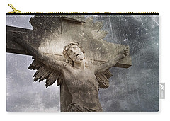 Riverside Cemetery Cross Carry-all Pouch