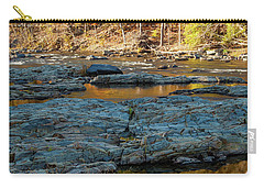 Carry-all Pouch featuring the photograph Riverside by Iris Greenwell