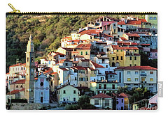 Riviera Village Carry-all Pouch by Jennie Breeze