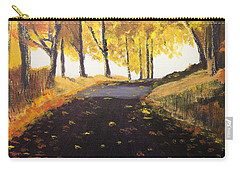 Road In Autumn Carry-all Pouch