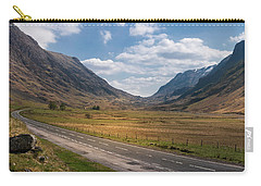 Road Through Glencoe Carry-all Pouch