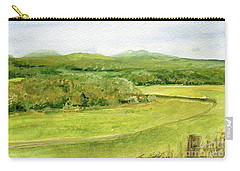 Road Through Vermont Field Carry-all Pouch