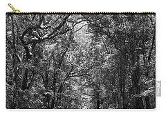 Road To Angel Oak Grayscale Carry-all Pouch