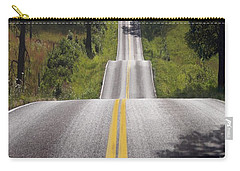 Road To Nowhere Carry-all Pouch by Bill Stephens
