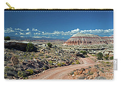 Road To Cathedral Valley Carry-all Pouch
