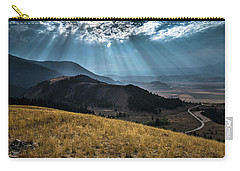Road To Curtis Canyon Carry-all Pouch