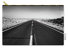 Road To Forever Carry-all Pouch by David Cote