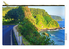 Carry-all Pouch featuring the photograph Road To Hana - Hawaii by Michael Rucker