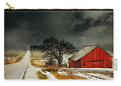Road To Nowhere Carry-all Pouch by Julie Hamilton