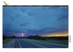 Lightning Over Sonora Carry-all Pouch
