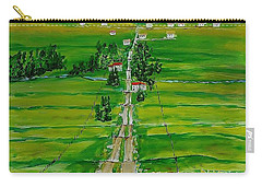 Road To The Beach Carry-all Pouch by Mike Caitham