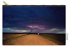 Road Under The Storm Carry-all Pouch