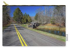 Road View Of Mabry Mill Carry-all Pouch