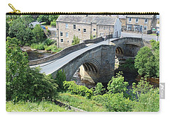 Roadbridge Over The River Tees Carry-all Pouch