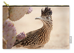 Carry-all Pouch featuring the photograph Roadrunner by Dan McManus