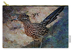 Roadrunner Making Nest Carry-all Pouch