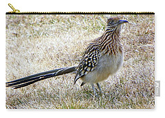 Roadrunner New Mexico Carry-all Pouch by Joseph Frank Baraba