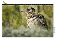 Roadrunner On Guard  Carry-all Pouch by Saija  Lehtonen