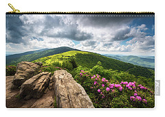 Roan Mountain Radiance Appalachian Trail Nc Tn Mountains Carry-all Pouch