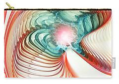 Carry-all Pouch featuring the digital art Roar Of A Dragon by Anastasiya Malakhova