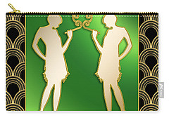 Roaring 20s Girls - Chuck Staley Carry-all Pouch by Chuck Staley